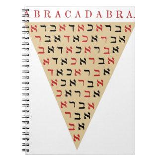 Abracadabra Spiral Notebook