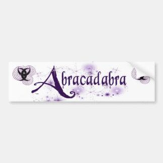 Abracadabra W Bumper Sticker