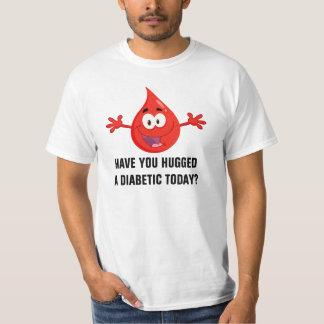 Abrace a un diabético playera