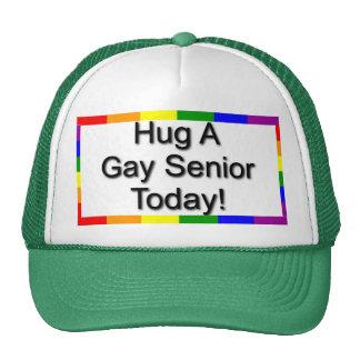 """""""Abrace a un mayor gay """" Gorro"""