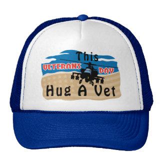 Abrace a un veterinario gorras