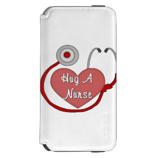 Abrace a una enfermera funda cartera para iPhone 6 watson