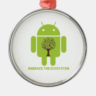 Abrace el ecosistema (el roble androide de Droid d Ornamentos Para Reyes Magos
