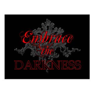 Abrace la oscuridad postales