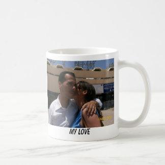 Abrace mi amor taza de café