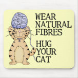 Abrace su gato alfombrilla de ratones
