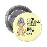 Abrace su gato pin