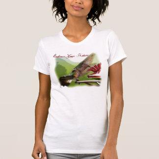 Abrace su naturaleza camiseta