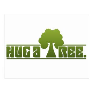Abrace un árbol postal