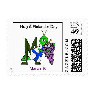 Abrace un día de Finlander - St. Urho sello del 16