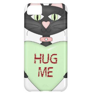 Abráceme corazón de la Gato-conversación Funda Para iPhone 5C
