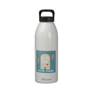 Abráceme humano botellas de beber