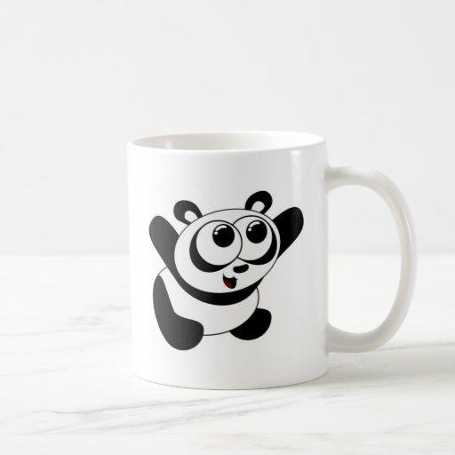 Abráceme panda taza