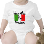 Abráceme que soy italiano traje de bebé