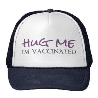 Abráceme, yo se vacunan gorro