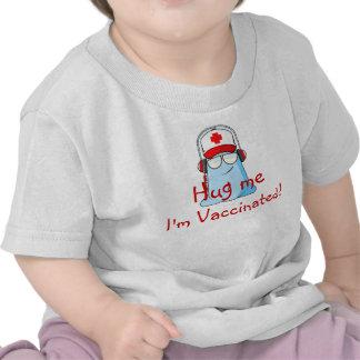 ¡Abráceme, yo se vacunan! Camiseta