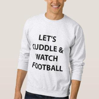 Abracemos y miremos el fútbol. Camiseta