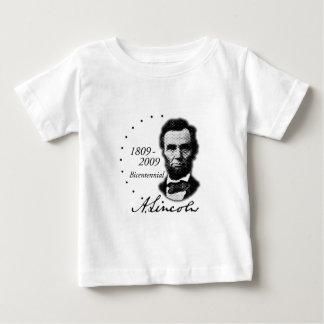 Abraham (Abe) Lincoln Bicentennial Baby T-Shirt