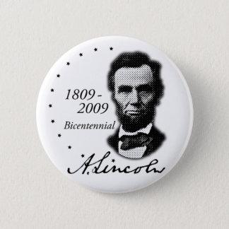 Abraham (Abe) Lincoln Bicentennial Pinback Button