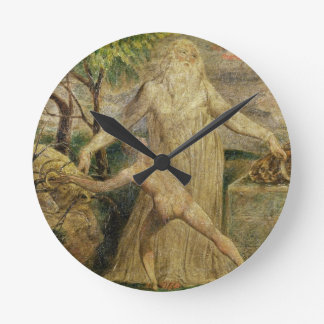 Abraham and Isaac, 1799-1800 (tempera, pen and ink Round Clock
