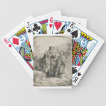 Abraham and Isaac Bicycle Poker Cards