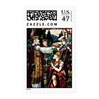 Abraham and Melchizedek Postage