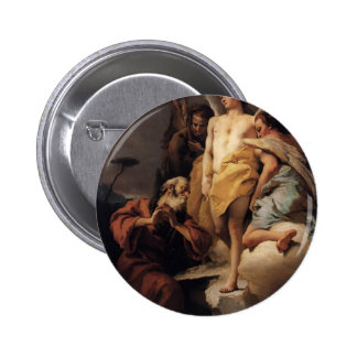 Abraham and the Three Angels by Giovanni Tiepolo Buttons