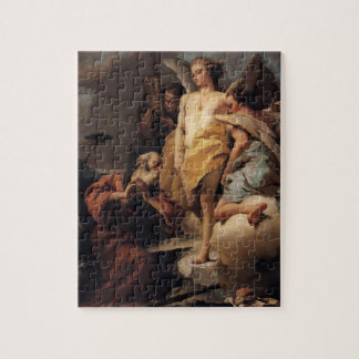 Abraham and the Three Angels by Giovanni Tiepolo Puzzle