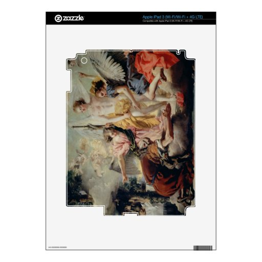 Abraham and the Three Angels Decal For iPad 3