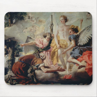 Abraham and the Three Angels Mouse Pad
