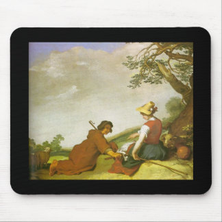 Abraham Bloemaert Shepherd And Shepherdess Mouse Pad