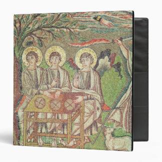 Abraham con los ángeles (mosaico)