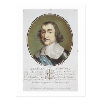 Abraham de Fabert (1599-1662) del 'DES de los Tarjetas Postales