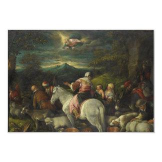 Abraham Departs Out of Haran by Francesco Bassano Card