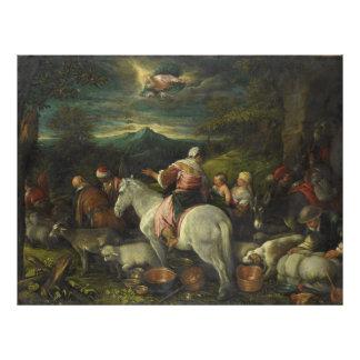 Abraham Departs Out of Haran by Francesco Bassano Photo Art