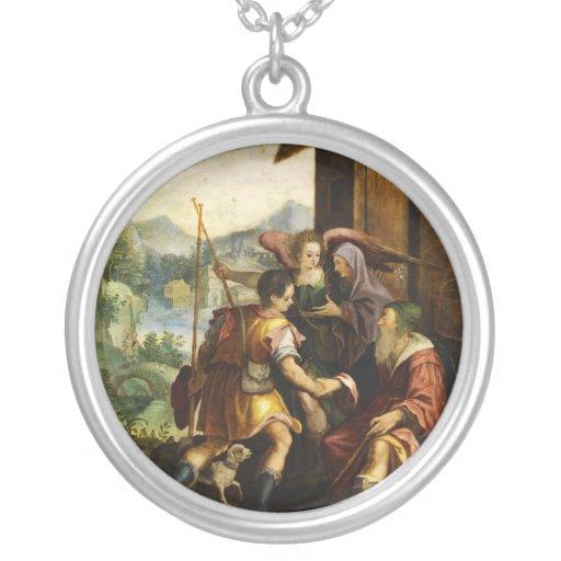 Abraham despide a su hijo Ishmael en enero Soens Joyeria Personalizada