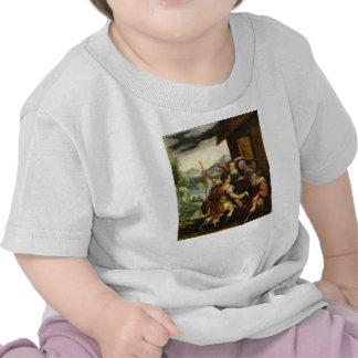 Abraham despide a su hijo Ishmael en enero Soens Camisetas