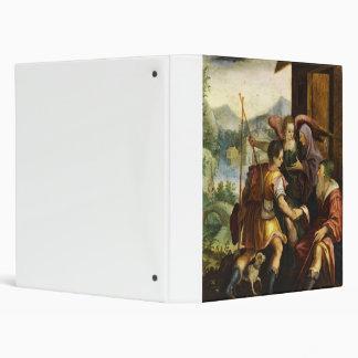 Abraham Dismisses his Son Ishmael by Jan Soens Binder
