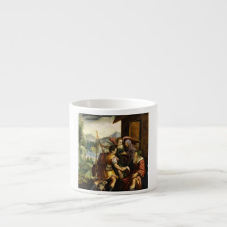 Abraham Dismisses his Son Ishmael by Jan Soens Espresso Cup