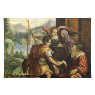 Abraham Dismisses his Son Ishmael by Jan Soens Placemat