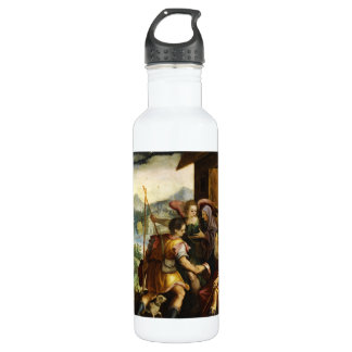 Abraham Dismisses his Son Ishmael by Jan Soens Stainless Steel Water Bottle