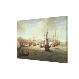 Abraham Duquesne en Quíos, después de 1681 Lienzo Envuelto Para Galerias