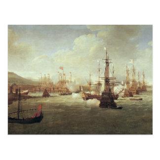 Abraham Duquesne en Quíos, después de 1681 Postales