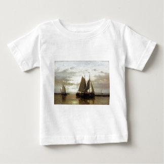 Abraham Hulk Snr Fishing In A Calm Baby T-Shirt
