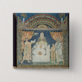 Abraham, Isaac and Melchisedech Pinback Button