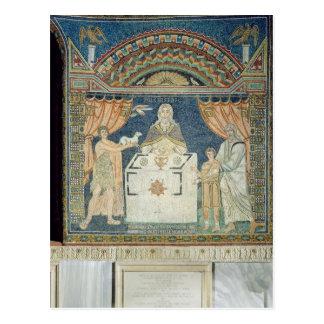 Abraham, Isaac and Melchisedech Postcard