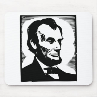 Abraham Lincoln, 16 President of the U.S. Mouse Pad