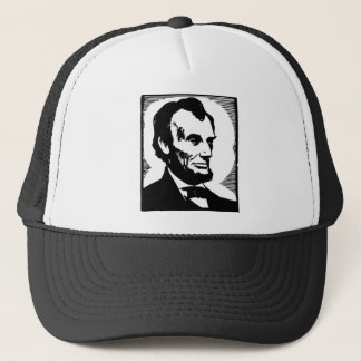 Abraham Lincoln, 16 President of the U.S. Trucker Hat