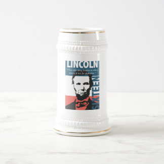 Abraham Lincoln 16th President Beer Stein