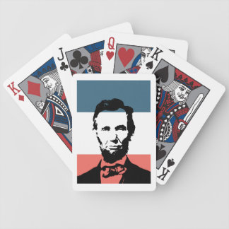 Abraham Lincoln 16th President Bicycle Playing Cards